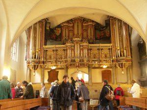 Foto: In der Kirche von Basedow